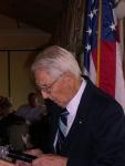 Mr. Väino Aare remembers Estonia's fallen soldiers