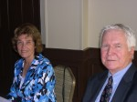 Evi and Arno Kallas, Secretary and President of the Estonian National Association of South Florida