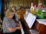 Mrs. Kaie Põhi Latterner accompanies our songs.