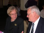 Kersti Linask, KFES Vice President, and Erkki Taada