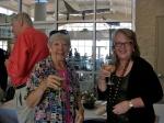 KFES Secretary Maare Kuuskvere and EANC Member Monika Orumaa Craig, November 3, 2013