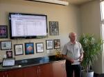 KFES Treasurer Rein Raja gives his report, Nov 3, 2013