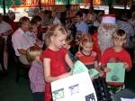 Children on Santa's nice list. KFES, December 8, 2013
