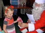 A gift for a nice little girl. KFES, December 8, 2013