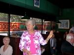 KFES Secretary Maare Kuuskvere shares announcements. KFES luncheon, January 5, 2014