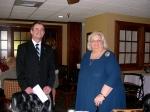 Hr. Kalle Kaljurand and Mrs. Robin Toomepuu, KFES EV96, 21. veeb. 2014, St. Petersburg, FL