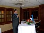 The Honorable Sten Schwede, Consul General of Estonia in New York City, KFES EV96, 21. veeb. 2014, St. Petersburg, FL