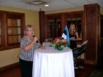 Ms. Kaie Põhi Latterner tells us about the poem's author, KFES EV96, 21. veeb. 2014, St. Petersburg, FL