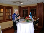 Keynote speaker: Her Excellency Marina Kaljurand, Ambassador of the Republic of Estonia to the United States and Mexico, KFES EV96, 21. veeb. 2014, St. Petersburg, FL