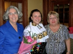 Best wishes to another February 24 birthday celebrant, Honorary Consul Lisa Mets, from Marju Cabrera and Kaie Põhi Latterner on behalf of the Estonian Society of Central Florida, KFES EV96, 21. veeb. 2014, St. Petersburg, FL