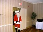 Santa arrives at the KFES luncheon, 6 dets 2014, St. Petersburg, FL