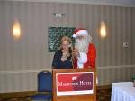 Triin Karr and Santa, KFES, 6 dets 2014, St. Petersburg, FL