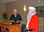 Jaan Kuuskvere and Santa, KFES, 6 dets 2014, St. Petersburg, FL