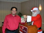 Dallas and Santa, KFES, 6 dets 2014, St. Petersburg, FL