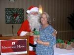 Lisa Mets and Santa, KFES, 6 dets 2014, St. Petersburg, FL