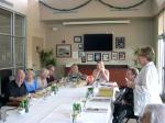 KFES President Kersti Linask welcomes members. KFES, St. Petersburg, FL, January 4, 2015