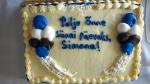 Cake for the birthday girl, Simona Andreas. KFES, St. Petersburg, FL, January 4, 2015