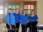 Vanad Sõbrad entertain the guests. Kesk Florida Eesti Selts, EVA 97, 21 veeb 2015. Foto: Urve Põhi