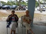 Leena Aare and Aime Susset. KFES piknik, Anna Maria Island, 26 aprill 2015. Foto: Lisa Mets