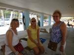 Ingrid Shipotofsky, Trine Kasemägi and Kersti Linask. KFES piknik, Anna Maria Island, 26 aprill 2015. Foto: Lisa Mets