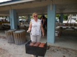 Hilda Aare. KFES piknik, Anna Maria Island, 26 aprill 2015. Foto: Lisa Mets