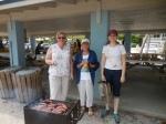 Hilda Aare Leena Aare and Kristina Aare. KFES piknik, Anna Maria Island, 26 aprill 2015. Foto: Lisa Mets