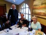 Tõnu Toomepuu, KFES President Kersti Linask, and Secretary Maare Kuuskvere, KFES annual meeting, 1. nov. 2015.a., Bradenton, FL. Foto: Lisa A. Mets
