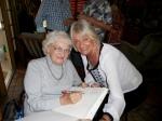 Linia Elmend and Ingrid Shipotofsky. KFES, 20. märts. 2016. St. Petersburg, FL. Foto: Lisa A. Mets