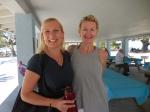 Liliane Kaares and Aini Stephens. Kesk Florida Eesti Selts picnic, Anna Maria Island, FL, 24 apr. 2016. Foto: Lisa A. Mets