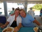 Anneliis Kuusik and Kaie Põhi Latterner. Kesk Florida Eesti Selts picnic, Anna Maria Island, FL, 24 apr. 2016. Foto: Lisa A. Mets