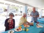 Jae Toomepuu, Tõnu Toomepuu, and Avo Aljas. Kesk Florida Eesti Selts picnic, 24. apr. 2016, Anna Maria Island, FL. Foto: Lisa A. Mets