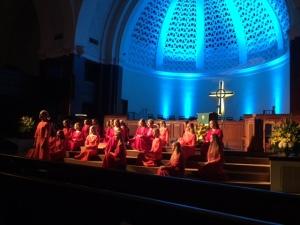 Tallinna Muusikakeskkooli Noortekoor, First Presbyterian Church of Miami, FL, 27. aug. 2016. Foto: Jorge Viera