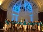 Tallinna Muusikakeskkooli Noortekoor, First Presbyterian Church of Miami, FL, 28. aug. 2016. Foto: Jorge Viera