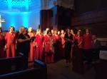 Tallinna Muusikakeskkooli Noortekoor, First Presbyterian Church of Miami, FL, 27. aug. 2016. Foto: Anneliis Kuusik