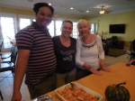 Dallas Dushemy, Marju Cabrera and Malle Sibul. KFES, 13. nov. 2016, Seminole, FL