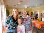 Triin and Annika Karr with Inne Joonsar, KFES, 13. nov. 2016, Seminole, FL