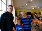 Edward and Logan Karr with Maare Kuuskvere, KFES, 13. nov. 2016, Seminole, FL
