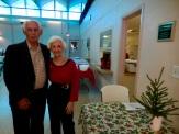 Rein and Geraldine Raja, Kesk Florida Eesti Selts Jõulupidu, 11. dets. 2016. Foto: Lisa A. Mets