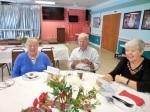 Alexandra Remelgas Kroon and Jaan and Maare Kuuskvere. KFES Supp ja Võileiva Lõunasöök. 7. jaan. 2017. Seminole, FL. Foto: Lisa A. Mets