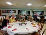 Birgit and Vincent Delaidatti, and Eric, Regina Reet and Chloe Cabrera. KFES Supp ja Võileiva Lõunasöök. 7. jaan. 2017. Seminole, FL. Foto: Lisa A. Mets