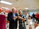 Tõnu Toomepuu and Eric Cabrera. KFES Supp ja Võileiva Lõunasöök. 7. jaan. 2017. Seminole, FL. Foto: Lisa A. Mets
