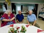 Robin Toomepuu, Erkki Taada and Pastor Priit Rebane. KFES Supp ja Võileiva Lõunasöök. 7. jaan. 2017. Seminole, FL. Foto: Lisa A. Mets