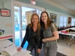 Triin Karr and Regina Reet Cabrera. KFES Supp ja Võileiva Lõunasöök. 7. jaan. 2017. Seminole, FL. Foto: Lisa A. Mets