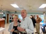 Viive Morin and Jaan Kuuskvere. KFES Supp ja Võileiva Lõunasöök. 7. jaan. 2017. Seminole, FL. Foto: Lisa A. Mets