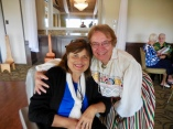 Gloria Lepik and Kersti Linask. Estonian Society of Central Florida (KFES), EV99 celebration, 25 Feb 2017, Clearwater, FL. Foto: Lisa Mets