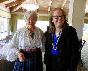 Maare Kuuskvere and Monika Orumaa Craig. Estonian Society of Central Florida (KFES), EV99 celebration, 25 Feb 2017, Clearwater, FL. Foto: Lisa Mets
