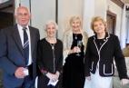 Rein and Geraldine Raja, Silva Jensen, and Elin Toona Gottschalk. Estonian Society of Central Florida (KFES), EV99 celebration, 25 Feb 2017, Clearwater, FL. Foto: Lisa Mets
