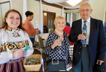 Marju Dishmey and Carmen and Henno Normet. Estonian Society of Central Florida (KFES), EV99 celebration, 25 Feb 2017, Clearwater, FL. Foto: Lisa Mets