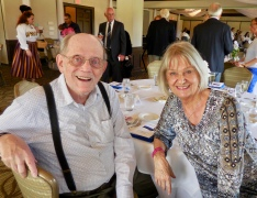 Howard and Ingrid Shipotofsky. Estonian Society of Central Florida (KFES), EV99 celebration, 25 Feb 2017, Clearwater, FL. Foto: Lisa Mets