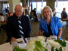 Toivo and Anneliis Hurt. Estonian Society of Central Florida (KFES), EV99 celebration, 25 Feb 2017, Clearwater, FL. Foto: Lisa Mets